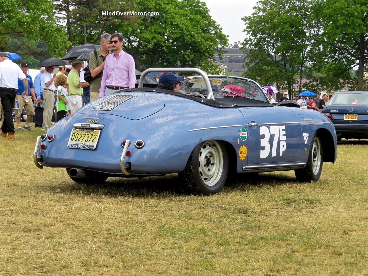 1957 Porsche 356A Speedster Profile