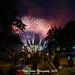 A Brazilian fireworks show