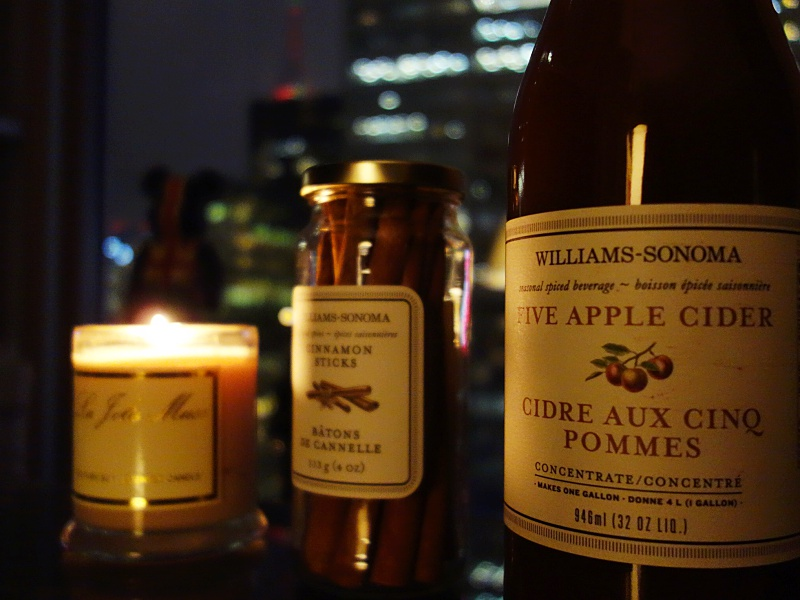 Williams Sonoma apple cider