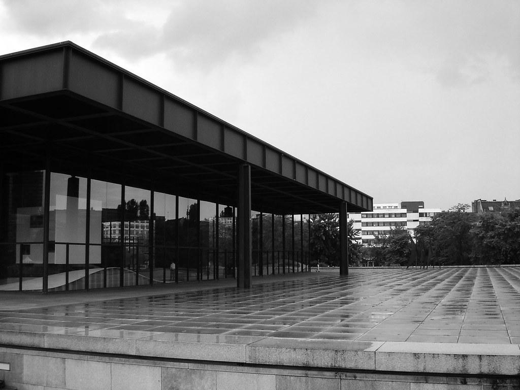 Neue Nationalgalerie Ludwig Mies Van Der Rohe Berlin De Flickr
