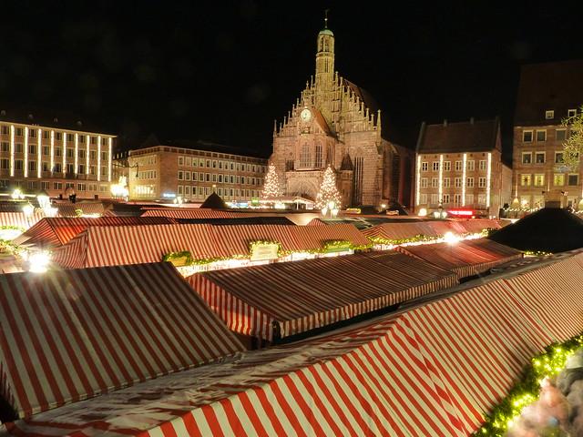 Gran Mercado de Navidad de Nuremberg (Baviera, Alemania)