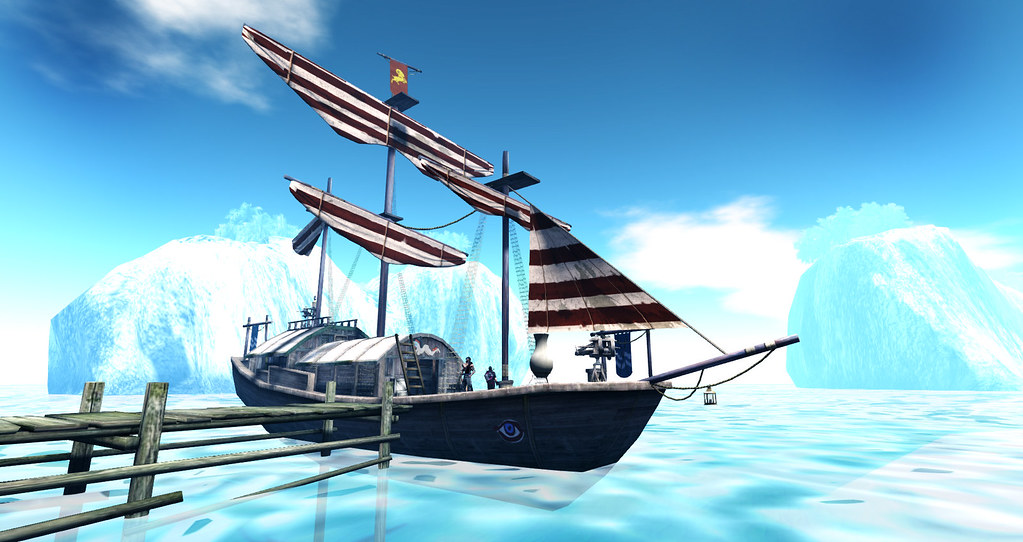 The Invictus. A pirate ship from Tyros