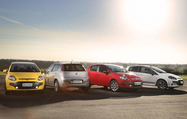 Fiat Punto (Line Up) 1
