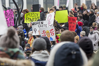 manif des femmes women's march montreal 58 | by Eva Blue