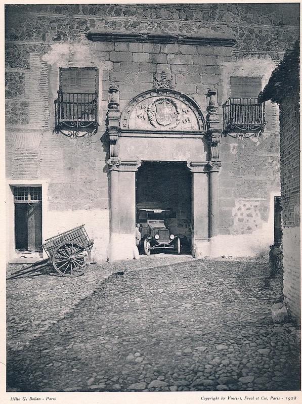 Palacio de Munárriz. Del libro Petits Édifices, publicado en Paris en 1928 por los editores Vincent, Fréal et Cie.