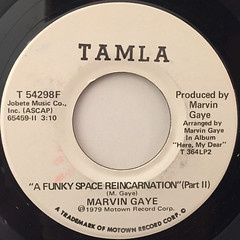 MARVIN GAYE:A FUNKY SPACE REINCARNATION(LABEL SIDE-B)