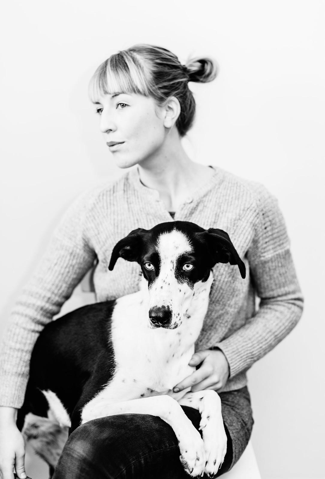 Evelina o hunden Elsie - Evelinas Ekologiska