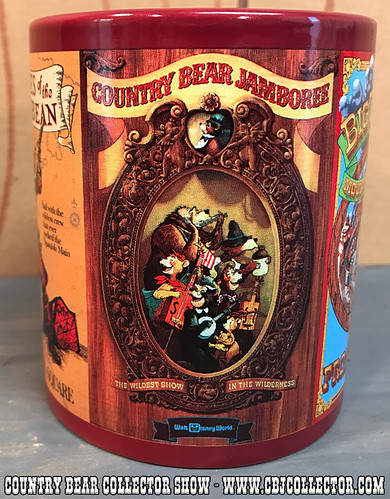 2015 Disney Parks Attraction Poster Mug - Country Bear Collector Show #084