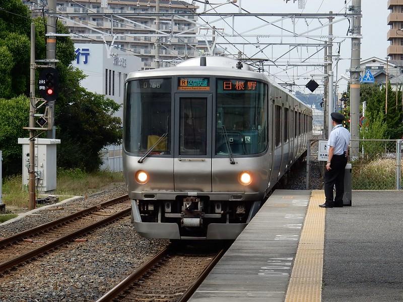 日根野行き電車