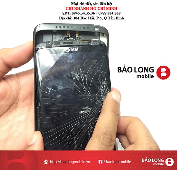 Các tình trạng mắc phải về cảm ứng sau khi thay màn hình HTC One X