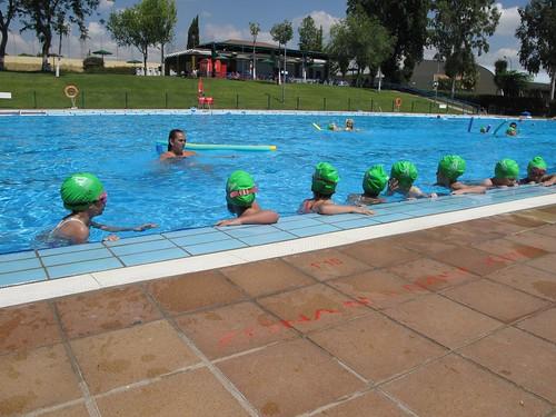 cursos de nataci n en la piscina de montequinto