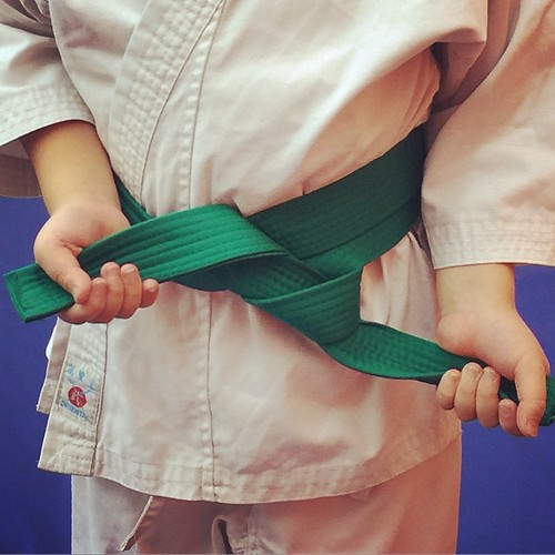 Judo - Green Belt