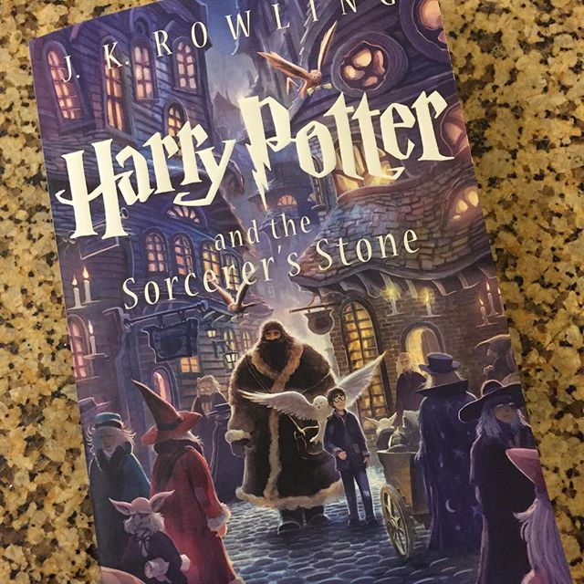 Harry Potter Book Free : Finished reading my first harry potter book boo