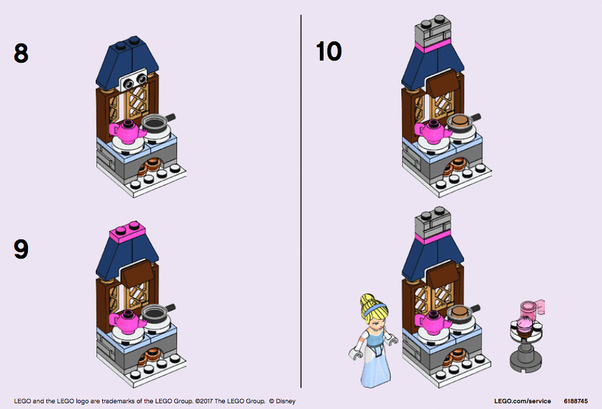 LEGO Cinderella's Kitchen (Polybag