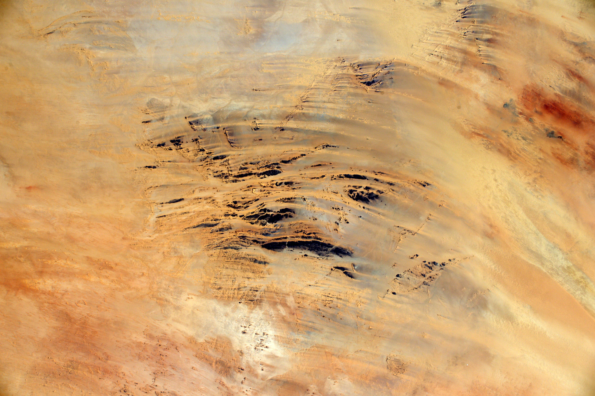 French Astronaut Thomas Pesquet - Desert Art