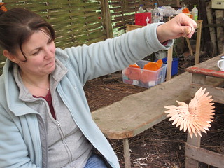Fan bird carving courses