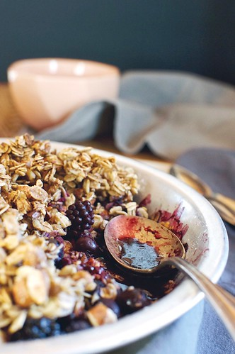 mixed berry crisp | by Hapaway