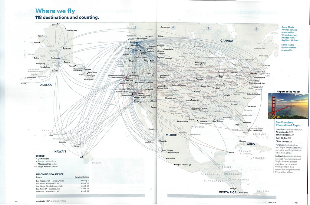 first bined alaska virgin america route map 2017 flickr