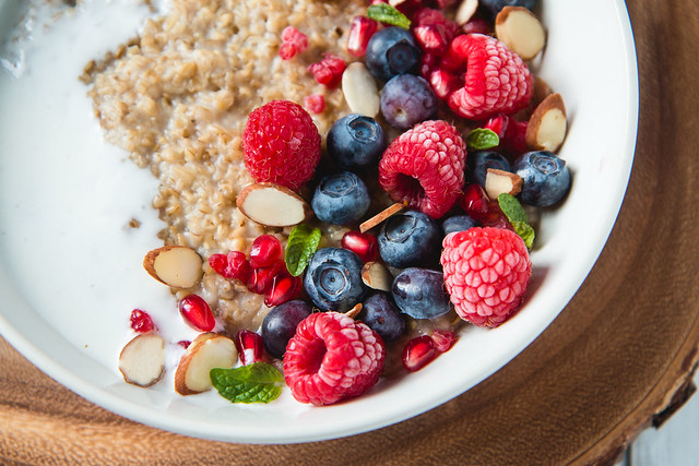 Steel Cut Oats with Kefir and Berries | Will Cook For Friends