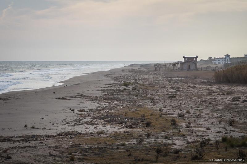 Playa del Prat desde el Mirador de la Bunyola