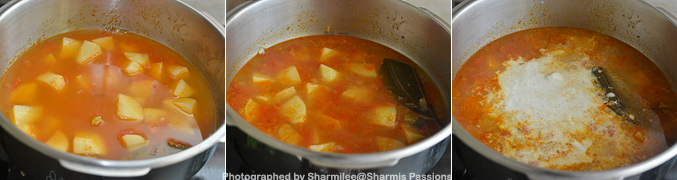 How to make Potato Kurma Recipe - Step4