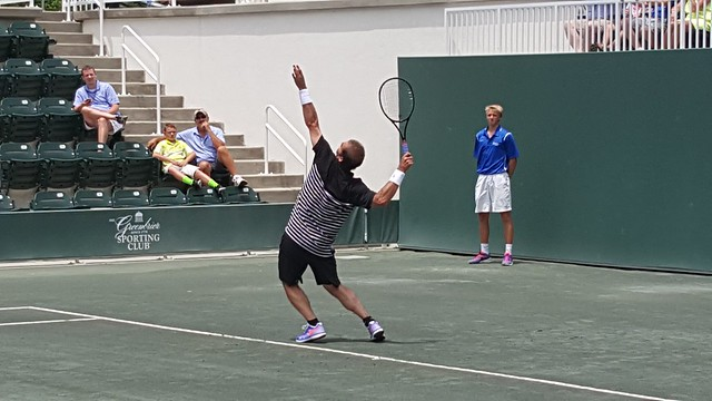 Agassi-Sampras match at The Greenbrier