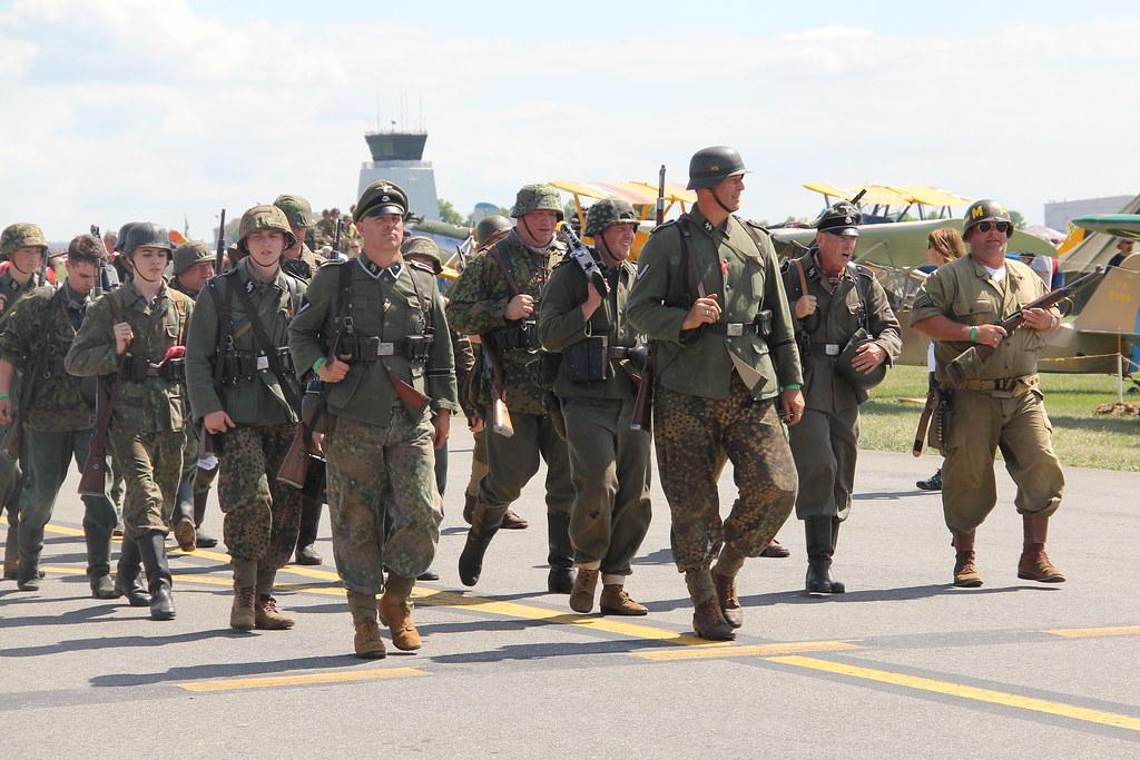 mid atlantic air museum world war ii weekend reenactors at flickr