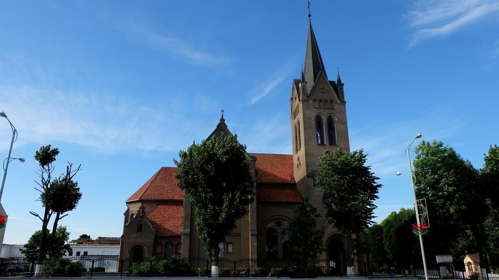 Костёл Воздвижения Святого Креста, Вилейка, Беларусь