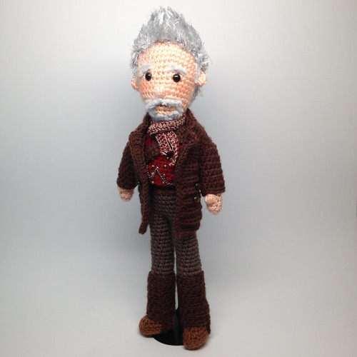 Doctor Who Crochet Amigurumi from CraftyIsCool - War Doctor
