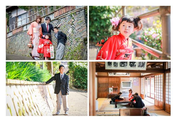 七五三写真 深川神社 窯垣の小径 愛知県瀬戸市 年賀状用 ロケーション撮影 出張撮影 着物 写真館 写真スタジオ キッズフォト データ