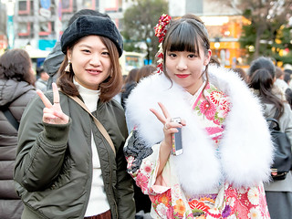 Coming of Age Day Kimono, Japan | by tokyofashion