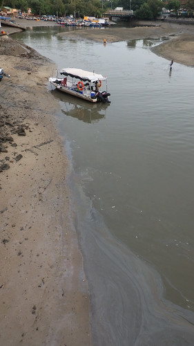 Changi Creek after oil spill in Johor Strait, Jan 2017