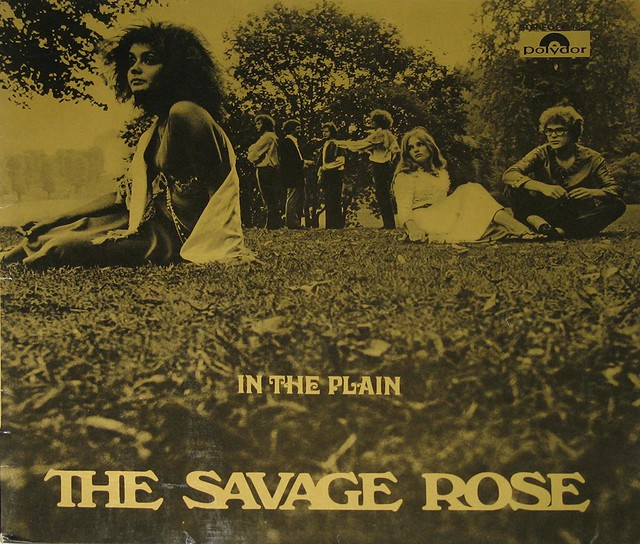 "SAVAGE ROSE IN THE PLAIN 12"" vinyl LP"