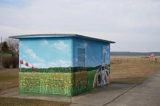 Trafohaus am  Ragower Modellflugplatz #3