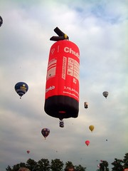 Chubb Fire Extinguisher Balloon | by The_Brain