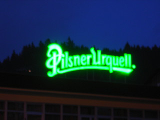 Pilsner Urquell Sign | by kh1234567890