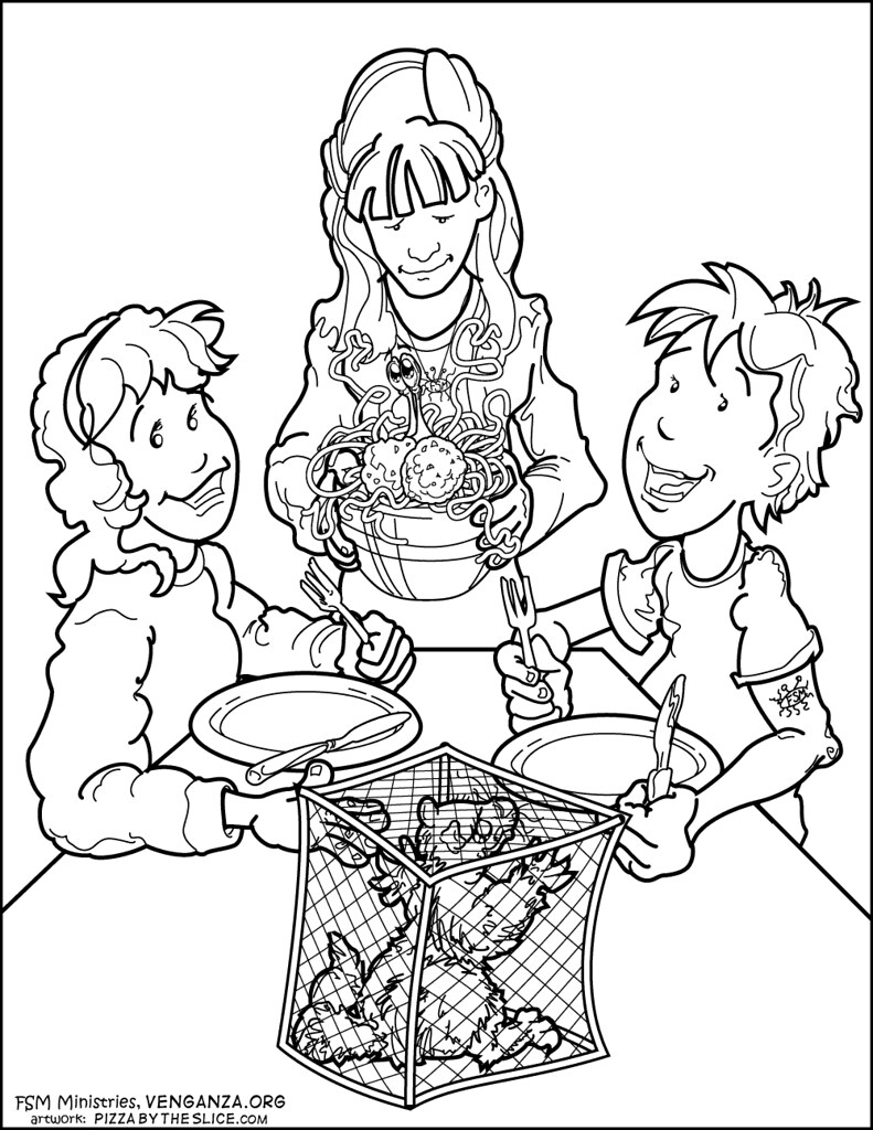 Image Result For Coloring Pages Spaghetti