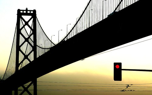 Bay Bridge Silhouette | by Thomas Hawk