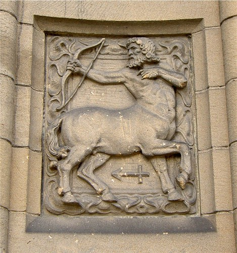 Sagittarius, The Old High School, Stirling | by Lynn Morag