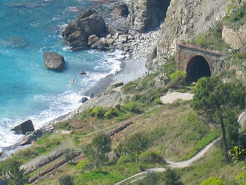 Guvano Nude Beach Cinque Terre Od Ultrazoom-9058