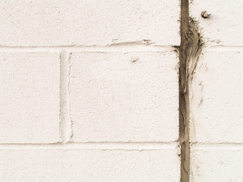 white wall with seam | by (michelle)