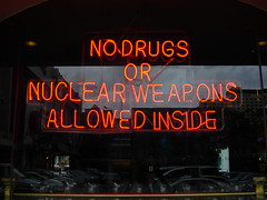 No Drugs or Nuclear Weapons after 9pm, please | by nogoodreason