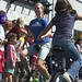 Unicyclist duo