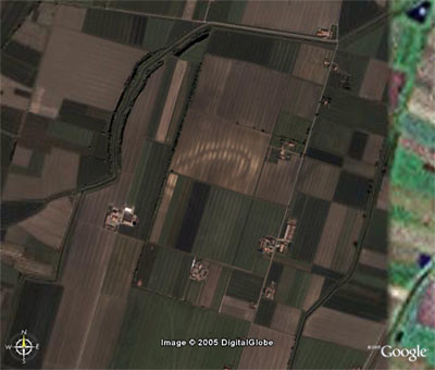 Roman Ruins found by Google Earth / Google Maps | by earthhopper