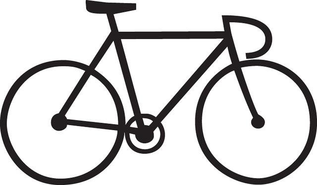track bike line drawing james bonifacio flickr. Black Bedroom Furniture Sets. Home Design Ideas