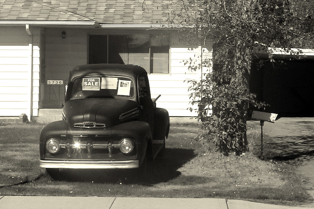 car for sale | Old truck for sale, Sechelt BC | darkthirty | Flickr