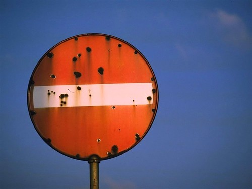 No Entry - rusty | by pwiwε