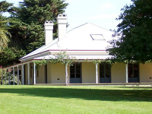 Domaine chandon homestead the homestead at the domaine for Australian farm house plans