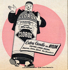 1957 Clorox Advertisement | by Roadsidepictures
