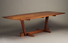 GEORGE NAKASHIMA Conoid dining table | by Stewf